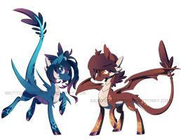 Dragon Ponies Auction (AUCTION OVER) by BentoStars