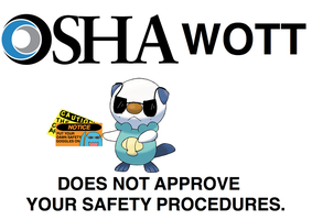 Oshawott Does Not Approve by LoneClone