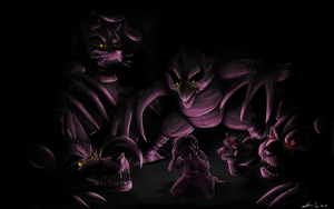Five Nights. 4 Nightmares by KLouDraws