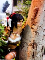 Nidalee From League of Legends by Erza-Diamond