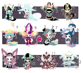 [CLOSED] ADOPT 24 - Multiple adopt by Piffi-sisters
