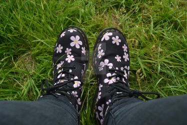 Dr martens Page Meadows by moonlightcat545