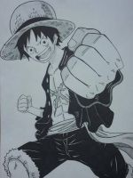 Monkey D. Luffy New World by Mirza91