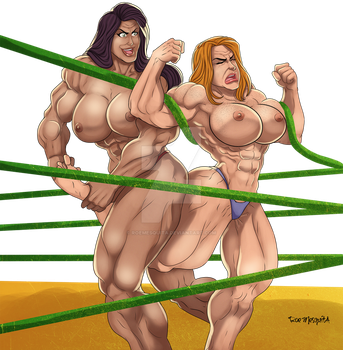 [C] Wrestling Match 04 by roemesquita