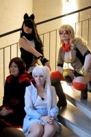 RWBY - Our team by Jansutti