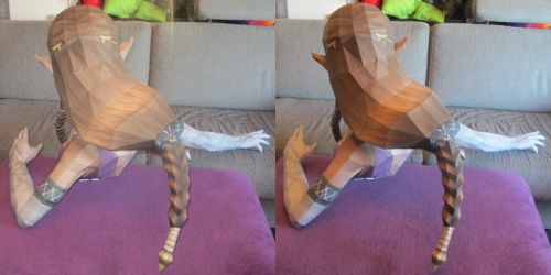 life size zelda assembly hair by minidelirium