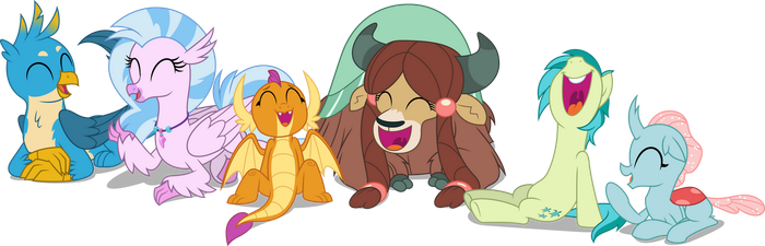 Vector #900 - The Young Six by DashieSparkle