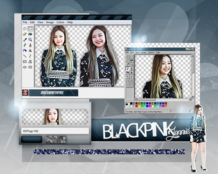 Pack Png 151 | BLACKPINK | Jennie | #2 by IDreamWithFire