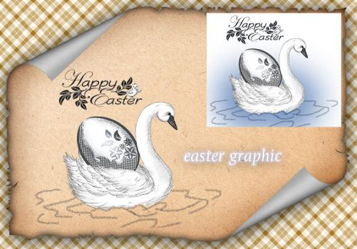 Swan Easter by roula33