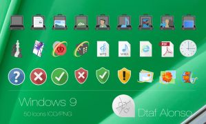 Windows 9 Icons #2 by dtafalonso