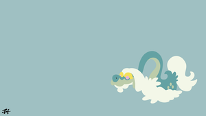 Drampa (Pokemon) Minimalist Wallpaper