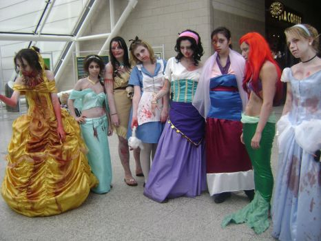 Disney characters cosplays by angelic-cat15