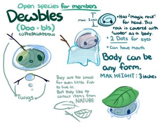 :Dewbles(Fox Pond Subspecies) Guide: by PrePAWSterous