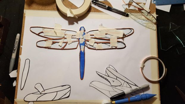 Dragonfly WIP by lizz-elric