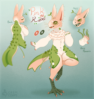Pink Rose Grem (FFA AUCTION) (CLOSED) by MrGremble