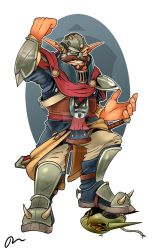 Commission - Baron Praxis (Jak II: Renegade) by Danny-Jay