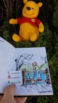 Winnie the Pooh by cher-o-kee