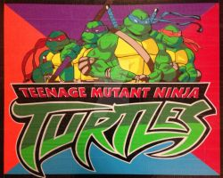 TMNT Duct Tape Art by DuctTapeDesigns