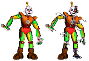 Circus Ennard by shadowNightmare13