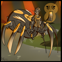 Day 26 Arachnophobia (Closed) by CannibalHarpy