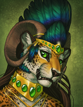 Gold and Green by KatieHofgard