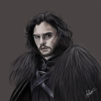 Jon Snow by SoManyPencils