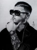 Drawing farruko by jhonatan23