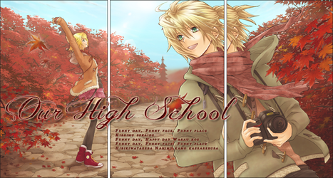 Our High School - Autumn Logo Version by usako12