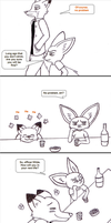 Drunken Fox. The Mark Extra Page 3 by Koraru-san