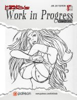 Work in Progress Sketch Book #02 PDF by VampressLuxura