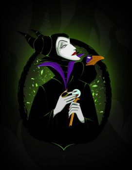 Maleficent by Mamba26