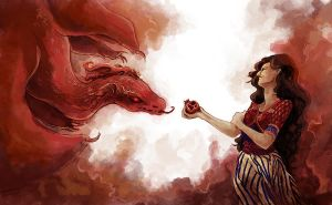 The Red Woman by emera