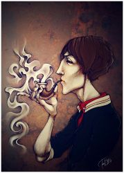 Smoker by f0xyme