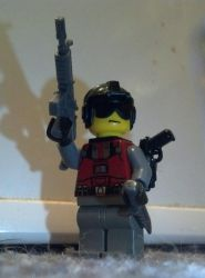 Me in LEGO Form - Commander Dusk by bnsfcam