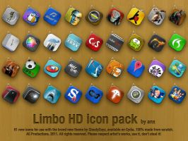 Limbo HD Icon Pack 01 by anxanx