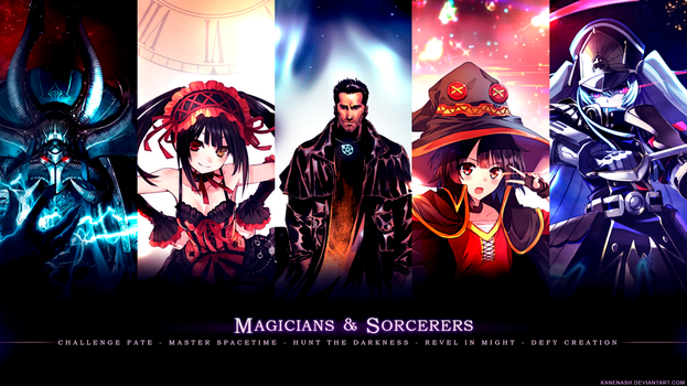 Magicians and Sorcerers by KaneNash