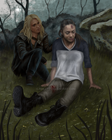Clarke And Raven by 1milly2
