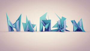 Polygon Text Experiment by Rabbe007