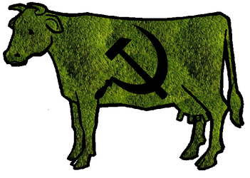 Moss-Cow by steelew