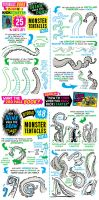 How to draw TENTACLES - BOOK now on KICKSTARTER! by STUDIOBLINKTWICE