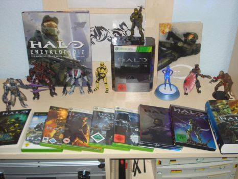 My Halo Collection by Tyrann1990
