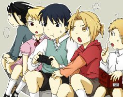 Fullmetal Children by c0ralus
