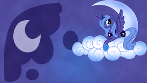 Luna - Wallpaper by GuruGrendo