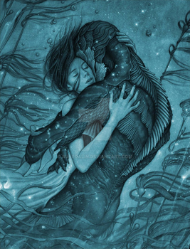 The Shape Of Water by RuneGalin