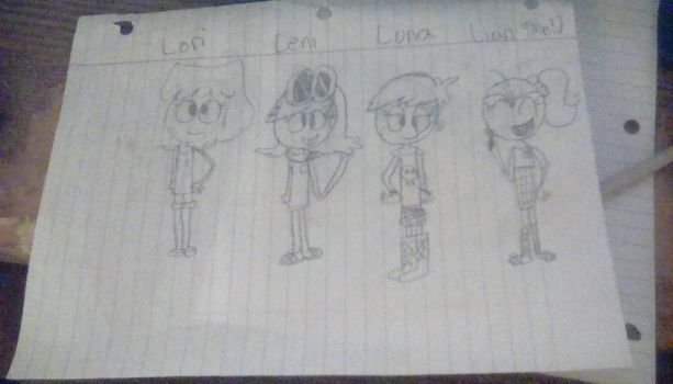 The Loud Family (Part 1) by Luan-Loud