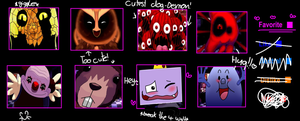 My Onaf favorite character meme^^ by Creeperchild