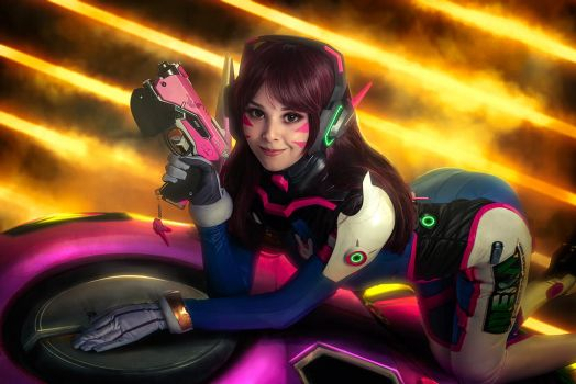 Cosplay D.VA by Disharmonica