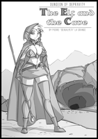 Dungeon of Depravity - The Elf and the Cave by Sexual-Yeti