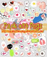 Pack 24 pngs by akumaLoveSongs