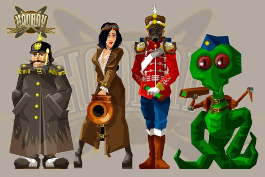 Game-Art_Hooray_Characters by solterbeck65